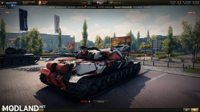 IS-7 Racing Pattern Skin 1.4 [1.4.0.1], 2 photo